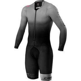 Castelli Body Paint 4.X Combinaison Speed Homme, silver/gray/black